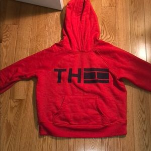 Red Tommy Sport Hoddie
